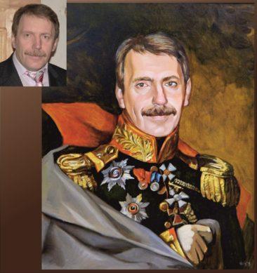 Настоящий портрет маслом на заказ в Днепропетровске…