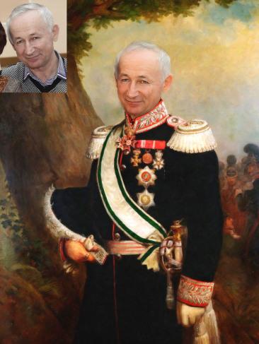 Где заказать исторический портрет по фото на холсте в Днепропетровске?