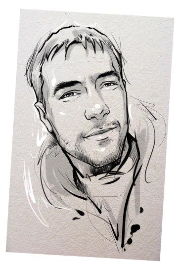 Портрет карандашом любимому мужу в Днепропетровске…