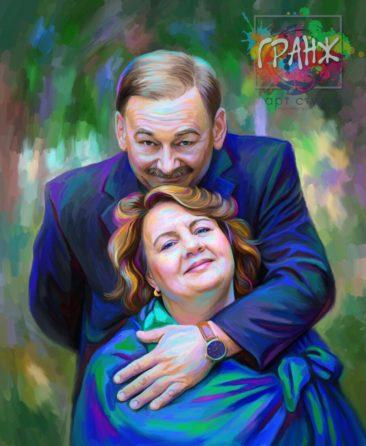 Портрет по фото на холсте Днепропетровск